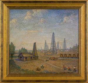 Vincent Maragliotti(American, 1888-1978), acrylicn
