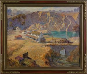 Howard Ellis(American, 1887-1962), oil on canvas l