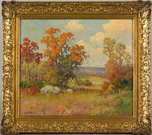 Robert William Wood(American, 1889-1979), oil on c