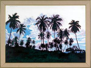 Ian John Hornak(American, 1944-2002), watercolor t