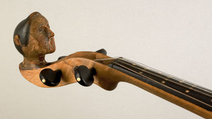 New York maple violin labeled by Frederic D. Rich,