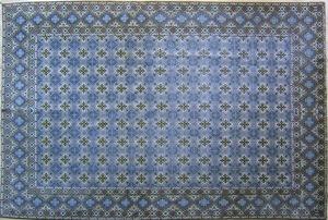 Contemporary roomsize Tabriz rug, 11'9