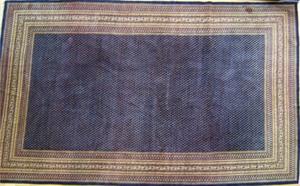 Roomsize oriental rug, ca. 1960, 18'9