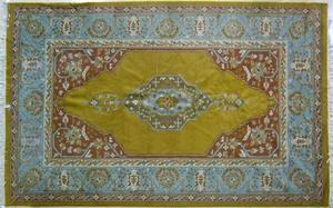 Roomsize oriental rug, ca. 1960, 14'6