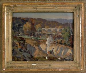 Arthur Meltzer(American, 1893-1989), oil on canvas