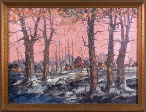 Leonid Gechtoff(American, 1883-1941), oil on canva