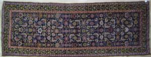 Karabaugh long rug, ca. 1910, with overall florala