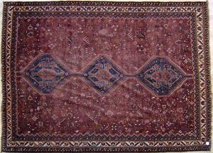 Kilim throw rug, 10' x 5'10