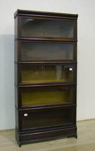 Wernicke 5-section stacking bookcase, 70