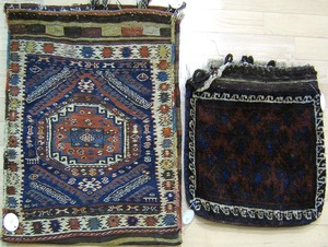 Two saddle bags, early 20th c.