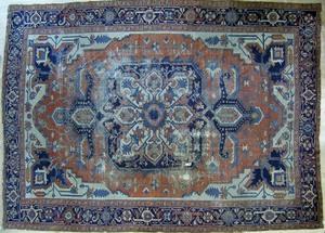 Roomsize Serapi, late 19th c., 14' x 9'2