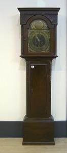 Georgian mahogany tall case clock, ca. 1800, 80