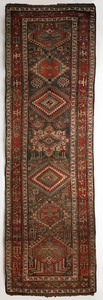 Northwest Persian runner, ca. 1910, with 7 medalli