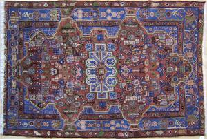 Lilihan throw rug, ca. 1930, 6'3