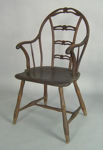 Philadelphia bowback windsor armchair, ca. 1780-18