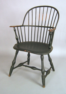 Pennsylvania sackback windsor armchair, ca. 1780,i