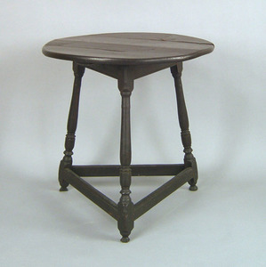 Pennsylvania pine and poplar table, ca. 1760, with