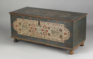 Lancaster County, Pennsylvania painted dower chest