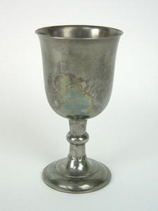 Pewter chalice, John Harrison Palethorp, Philadelp