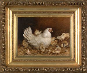 Ben Austrian(American, 1870-1921), oil on canvas o
