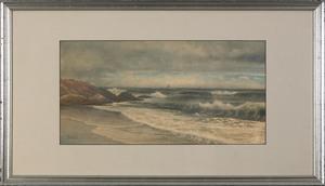 Alfred Thompson Bricher(American, 1837-1908), wate