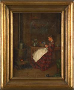 William Henry Snyder(American, 1829-1910), oil ona