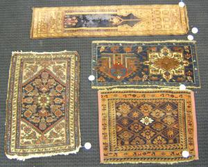 Four oriental mats.