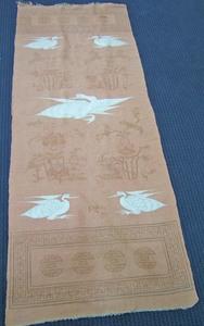 Pair of Chinese flatweave long rugs, 11' x 3'10