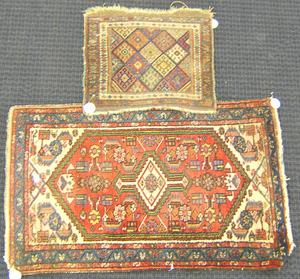 Two oriental mats, 4' x 2'5