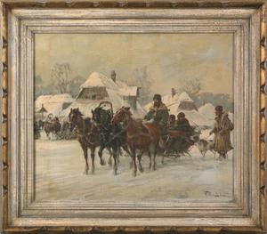 Wladyslaw T. Chemielinski(Polish, b. 1895), pair o