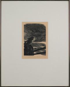 Fritz Eichenberg(German/American, 1901-1990), twoo