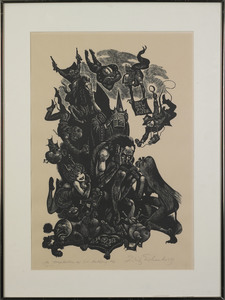 Fritz Eichenberg(German/American, 1901-1990), wood