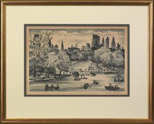 Adolf Arthur Dehn(American, 1895-1968), lithograph