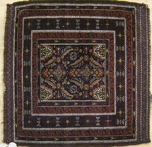 Baluch mat, ca. 1910, 3' x 2'10