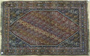 Quashgai throw rug, ca. 1940.