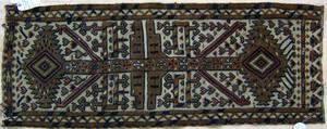 Turkomen mat, ca. 1910, 3'11