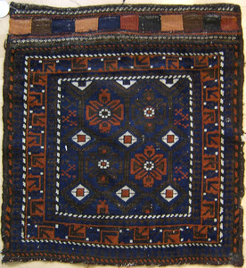Three Baluch mats, early 20th c., 27