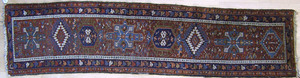 Three throw rugs, early/mid 20th c., to include aa