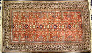 Contemporary Shirvan rug, 9' x 5'4