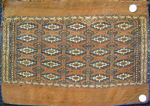 Turkoman bag face, early 20th c., 3'4