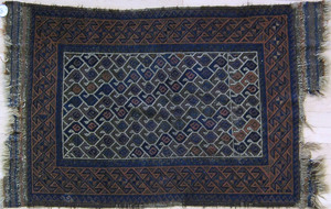 Two Belush mats, ca. 1910, 4'5