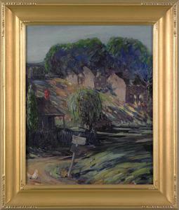 Maude Drein Bryant(American, 1880-1946), oil on ca