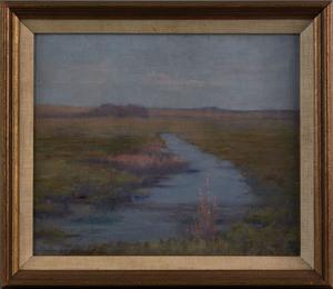 Aldro Thompson Hibbard(American, 1886-1972), oil o