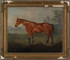 William Pascoe(British, 19th c.), oil on canvas ho