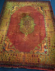 Roomsize Moroccan rug, ca. 1930, 14'9