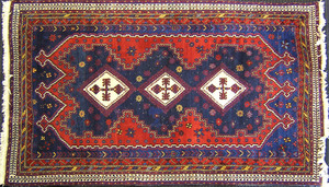 Sparta throw rug, together with a runner.
