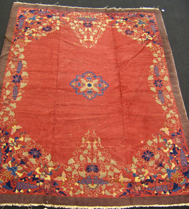 Roomsize Chinese rug, ca. 1930, 11'4