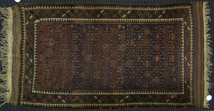 Two Beluch mats, ca. 1915, 5' x 3' and 5'2