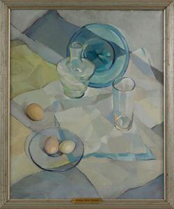 Georgia Bard Shearer(American, early 20th c.), oil