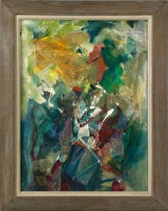 Walter Newton Reinsel(American, 1905-1979), acryli